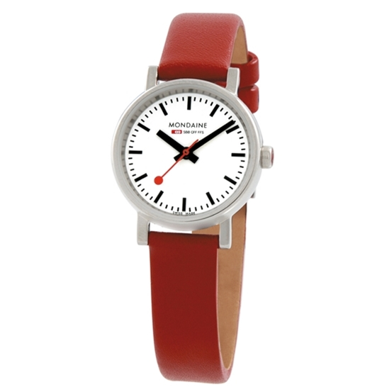 Evo Quartz Ladies Red Strap